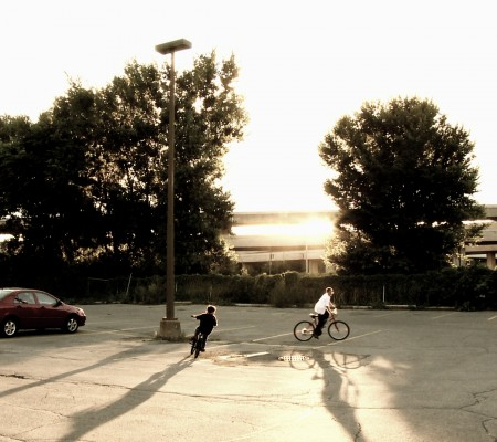 Sunset-bikes