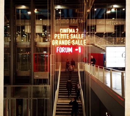 Jeppe at le Centre Pompidou