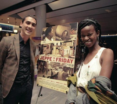 Coproducer Elias Ribeiro and unit director Kitso Lynn Lelliott